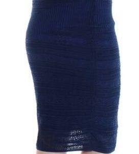 Rachel Roy Crochet Pencil Skirt